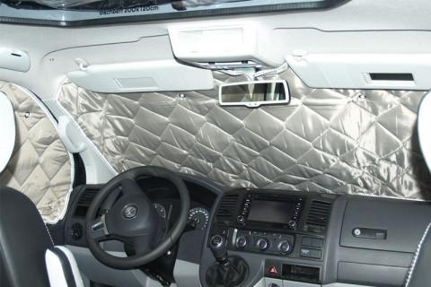 VW-T5/T6 Isoflex priekinių langų šilumos izoliacija